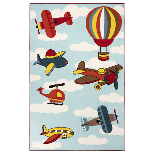 Superior Lil Flyer Non-Slip Kids' Indoor Area Rug