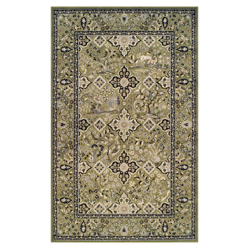 Radcliffe Area Rug, Nature Motifs, Flora, Wildlife, Transitional