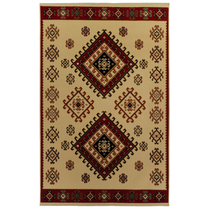 Traditional Santa Fe Area Rug Collection