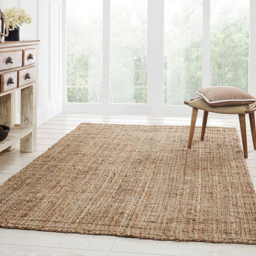 Superior Kula Collection Hand Woven Jute Rug