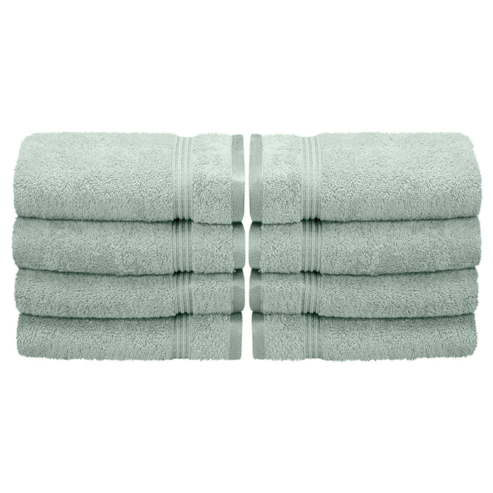 Eastbourne Egyptian Cotton Hand Towel Set, 600 GSM, 8-Pieces