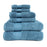 800 GSM 100% TURKISH LONG STAPLE COTTON 6 PC TOWEL SET (2 Face+ 2 Hand+ 2 Bath)