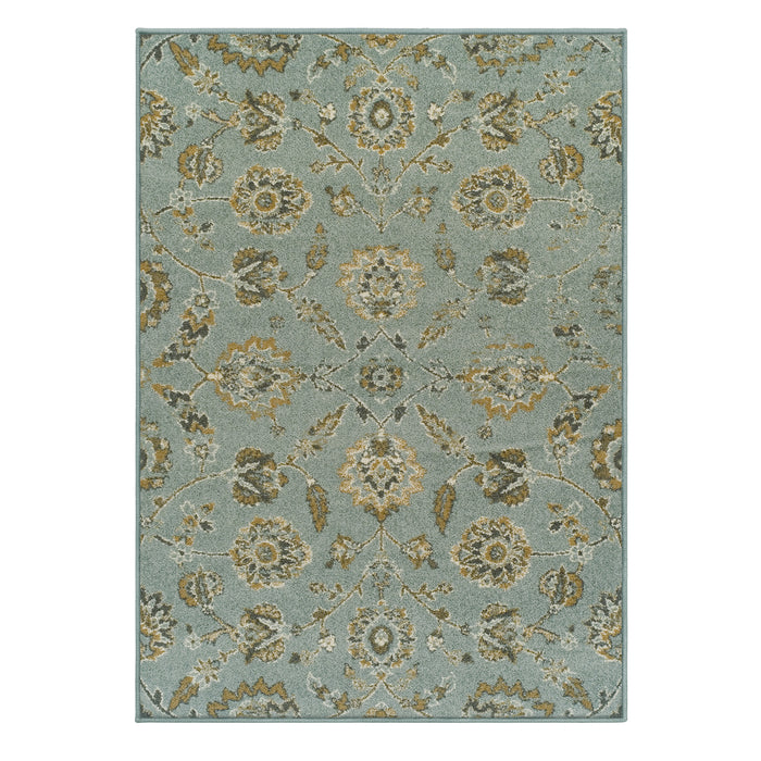 Helston Traditional Antique Look Area Rug