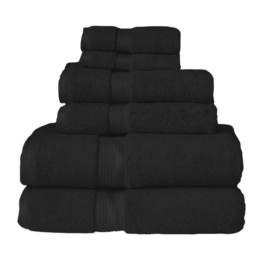 900 GSM  Super Absorbent 6-Piece Cotton Bath Towel Set
