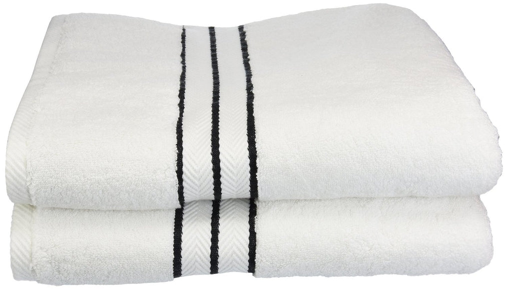 Blizz Egyptian Cotton Bath Towels, Hotel Collection, 900 GSM, 2-Pieces