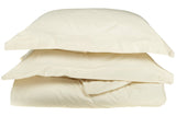 530-Thread Duvet Cover Set With Shams, Premium Long-Staple Cotton, 8 Colors