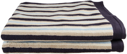 Ultrona 100% Combed Cotton Bath Sheet Towels, Stripes, 2-Pieces
