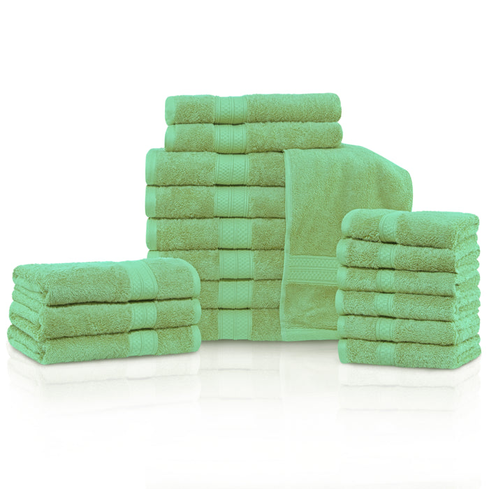 650 GSM  Luxury Bamboo 18-Piece Towel Set