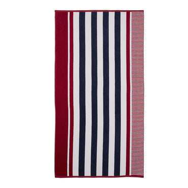 Superior Cotton Checkered Textured (set of 2) Oversized Beach Towel