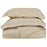 100% Premium Combed Cotton Solid Duvet Cover Set