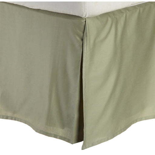 Superior 300 King 100% Premium Combed Cotton Solid Bed Skirt