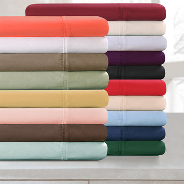 Soft Long-Staple Cotton Duvet Cover Set
