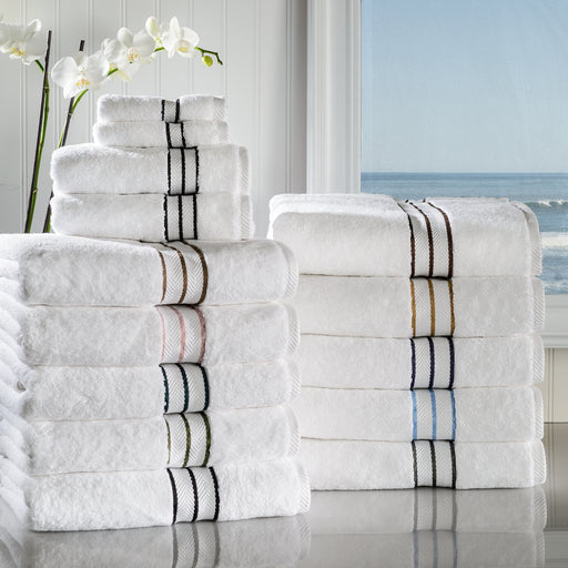 Blizz Egyptian Cotton Towel Set, Hotel Collection, 900 GSM, 6-Pieces