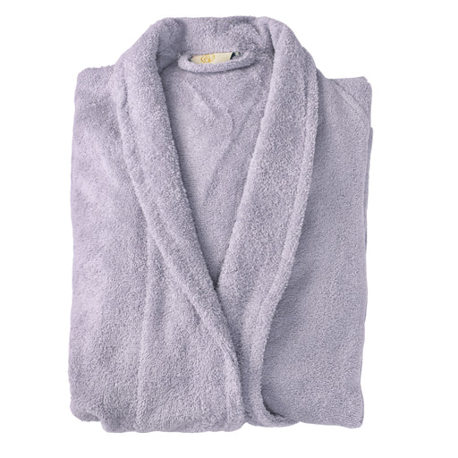 100% Premium Long-Staple Cotton Unisex Terry Bath Robe, 10 Colors