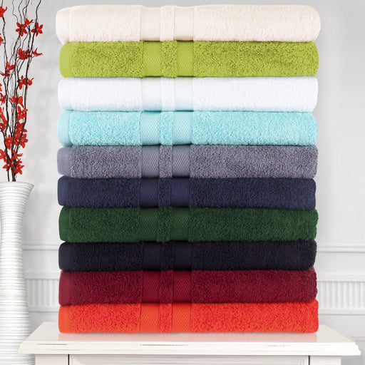 Pure Cotton 6-Piece Bathroom Towel Set