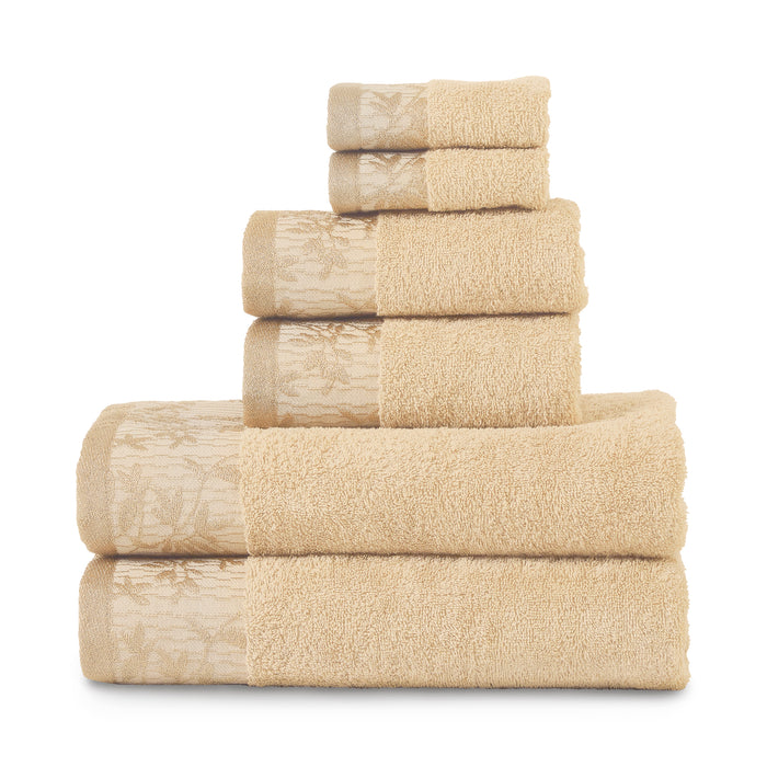 Superior Wisteria 500GSM Cotton 6-Piece Towel Set