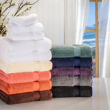 Zero Twist Cotton 6-Piece Bath Towel Set
