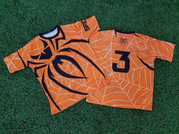 *Pre-Order* Spiderz Full Dye Jersey Buy In - Orange/Black/White