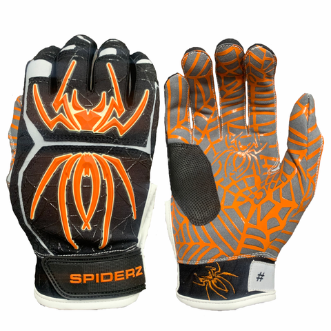 2020 Spiderz HYBRID - Black/Orange/White