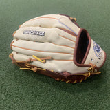 "ULTRA Fielding Glove - Dark Brown/Tobacco/Bone, 13.25"", H-Web  - Free Custom Engraving"