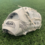 "ULTRA Fielding Glove - All White, 12.5"", Basket Web - Free Custom Engraving"