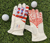 "Spiderz ""Buzzard"" Golf Glove - ""Merica"""