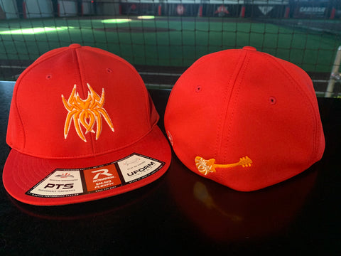Spiderz Richardson PTS 20 Hat (Nasvhille) - Red/Orange