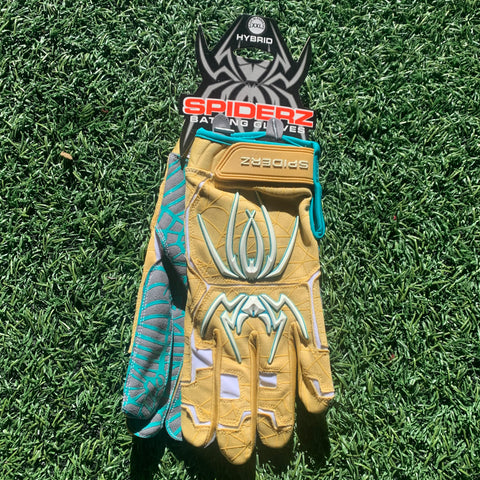 2020 Spiderz HYBRID (Vegas) - Gold/White/Teal