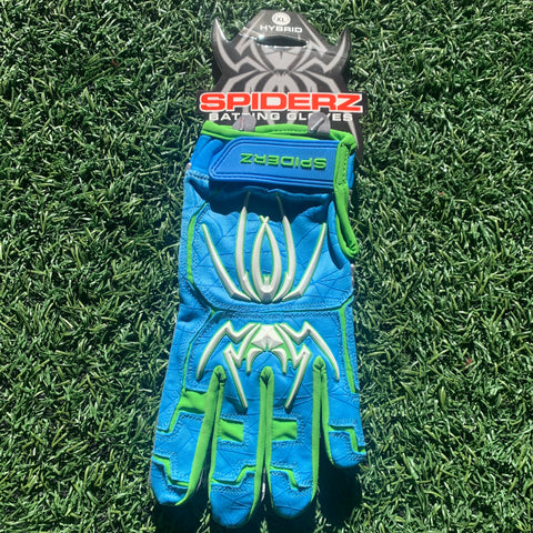 2020 Spiderz HYBRID (Vegas) - Columbia Blue/Lime