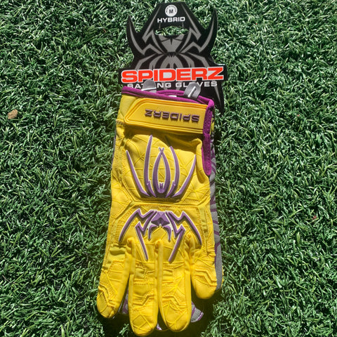 2020 Spiderz HYBRID (Vegas) - Yellow/Purple