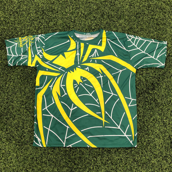 *Pre-Order* Spiderz Full Dye Jersey Buy In - Green/Yellow/White