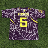 *Pre-Order* Spiderz Full Dye Jersey Buy In - Purple/Yellow/White