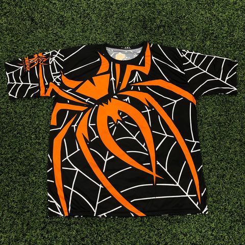 *Pre-Order* Spiderz Full Dye Jersey Buy In - Black/Orange/White