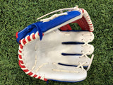 "PRO Fielding Glove - Royal Mesh/Red/White -10.75""- I-WEB"