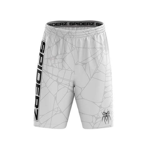 Spiderz Super Micro Mesh BP Shorts - White/Silver/Black