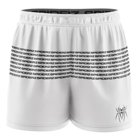 Spiderz Women's Shorts - White/Black