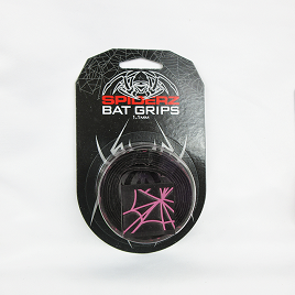 Spiderz Bat Grip (1.1 mm) - Black/Pink