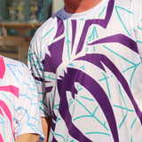 *Pre-Order* Spiderz Full Dye Jersey Buy In - White/Purple/Teal
