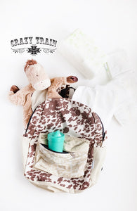 Crash Course Backpack - COWHIDE