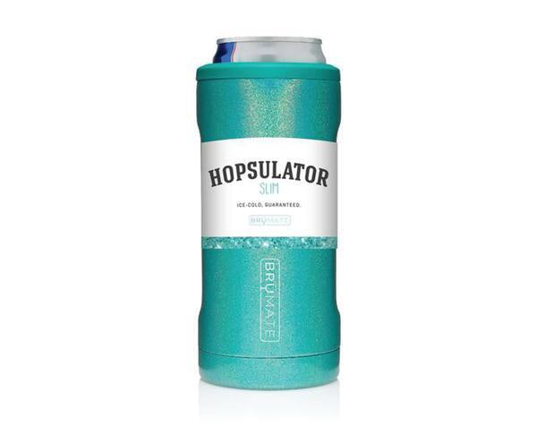 Slim Can Hopsulator - Glitter Peacock