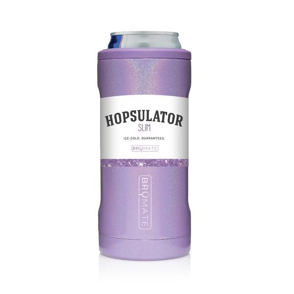 Slim Can Hopsulator - Glitter Violet
