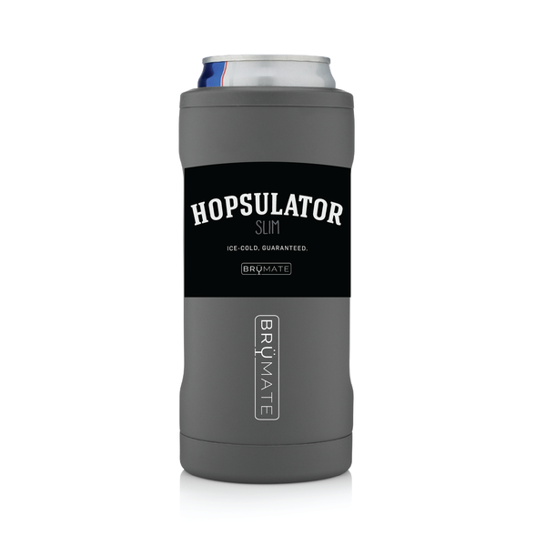Slim Can Hopsulator - Matte Gray