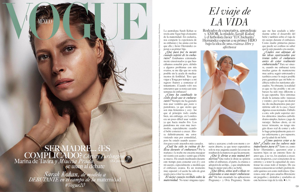 MIMI the label in VOGUE magazine