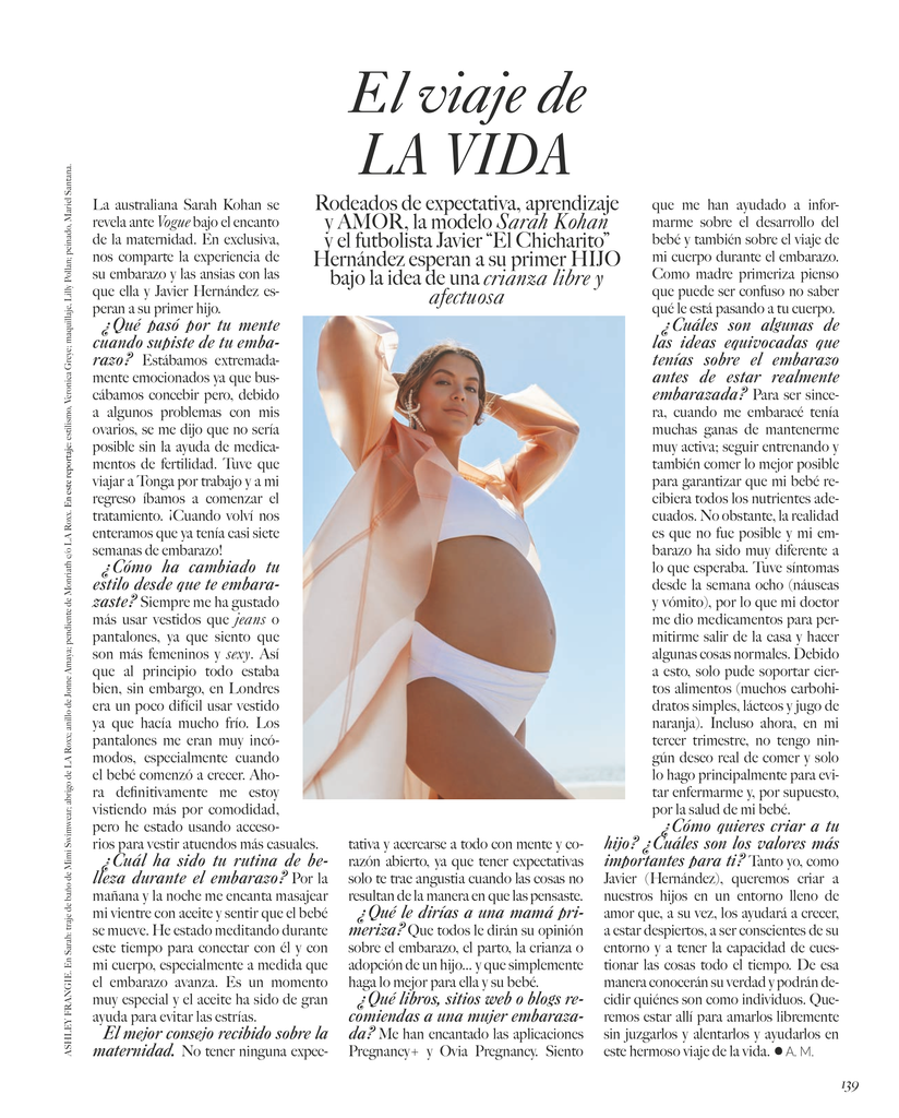 MIMI the label Swimwear in VOGUE Magazine