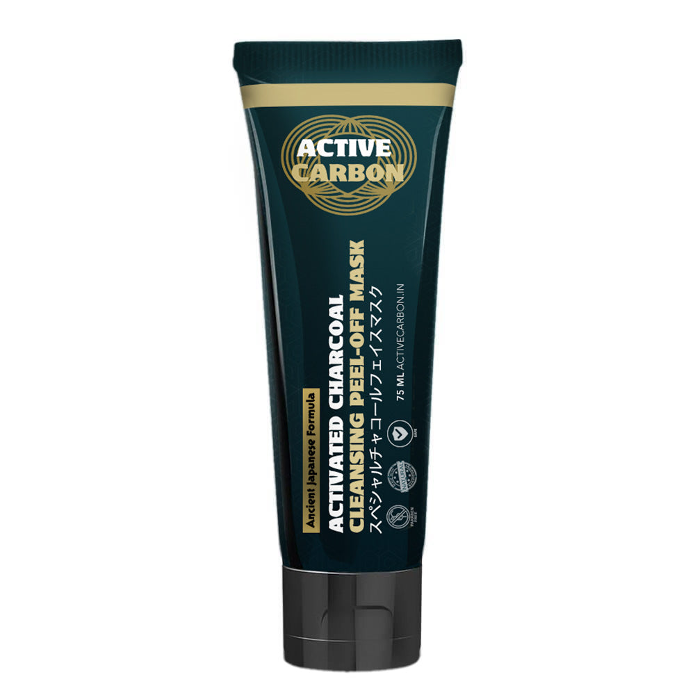 Create Your Own Active Charcoal Skin Purifying Face Mask: Activated Charcoal Cleansing Peel-Off Mask