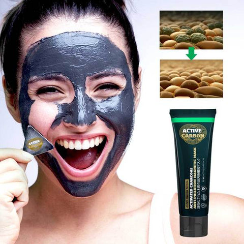 Activated Charcoal Anti-Pollution Magnetic Mask
