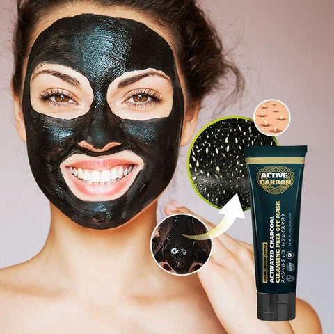 Activated Charcoal Cleansing Peel-Off Mask