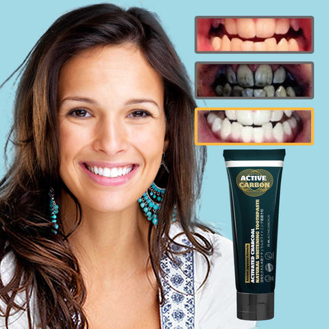 Activated Charcoal Natural Whitening Toothpaste