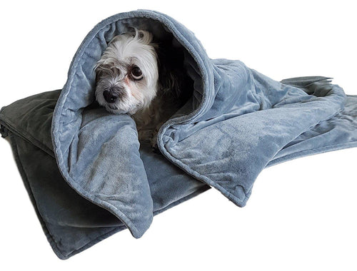 Weighted Dog Anxiety and Stress Relief Blanket