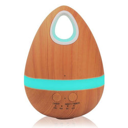 200Ml Essential Oil Aroma Diffuser / Ultrasonic Humidifier Air Purifier - Light Wood / Us - Homewares